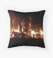 Eye of the Firestorm Throw Pillow