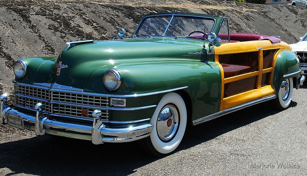 Chrysler Woodie by Marjorie Wallace