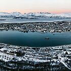 Tromso from the Mountains by David Bowman