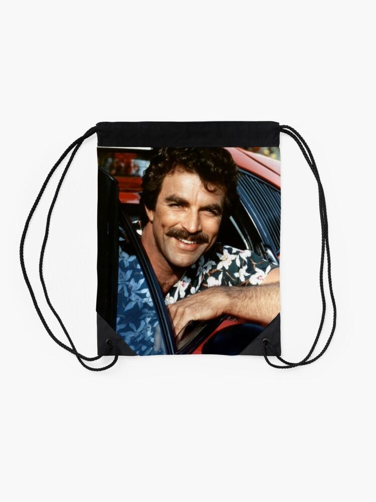 Alternate view of Thomas Magnum P.I Drawstring Bag