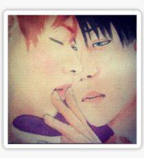Ereri watercolor 2 filtered Sticker