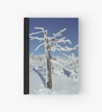 A diamond-dust day at the Smrk mountain 2 (Jizera mountains, Czech Republic) Hardcover Journal