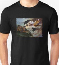 Die Erschaffung von T'Challa Slim Fit T-Shirt