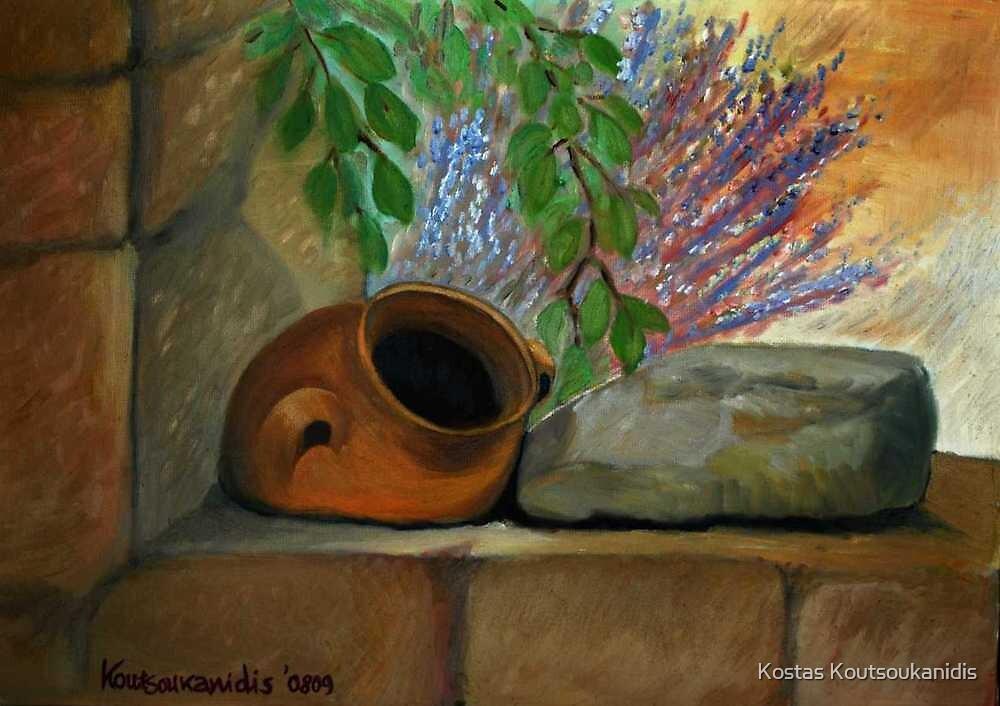 Old Pot by Kostas Koutsoukanidis