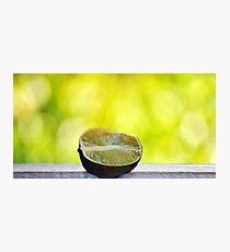 Lime Photographic Print