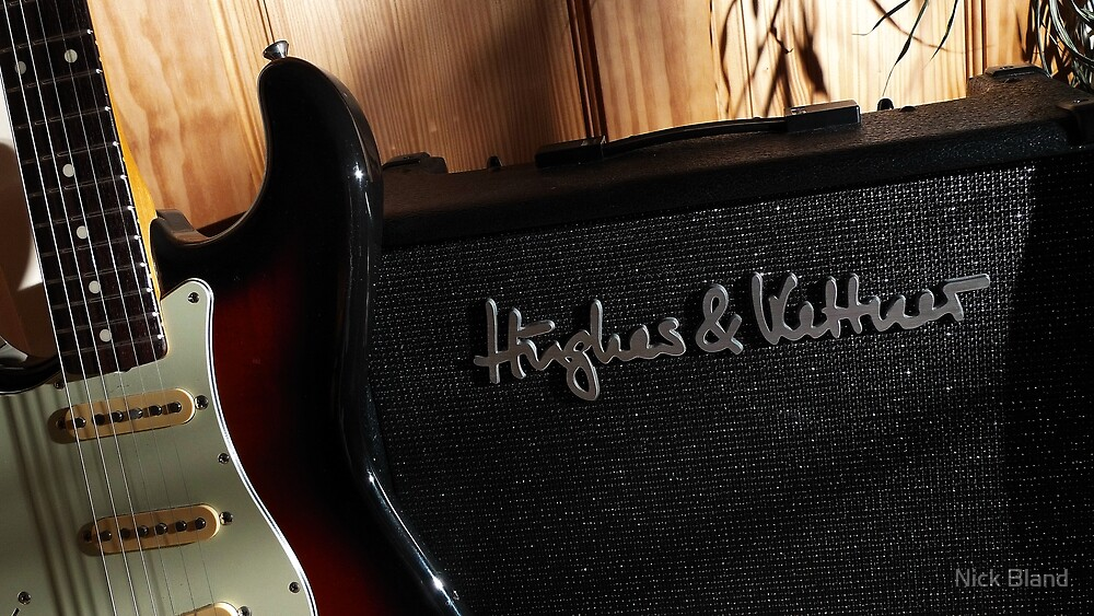 Guitar Icon : '62 Strat ... & amp by Nick Bland