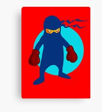 Ninja by Chillee Wilson Canvas Print