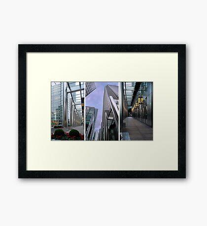 Docklands Architecture Framed Print