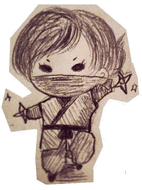 Cute Ninja  by jelliphish