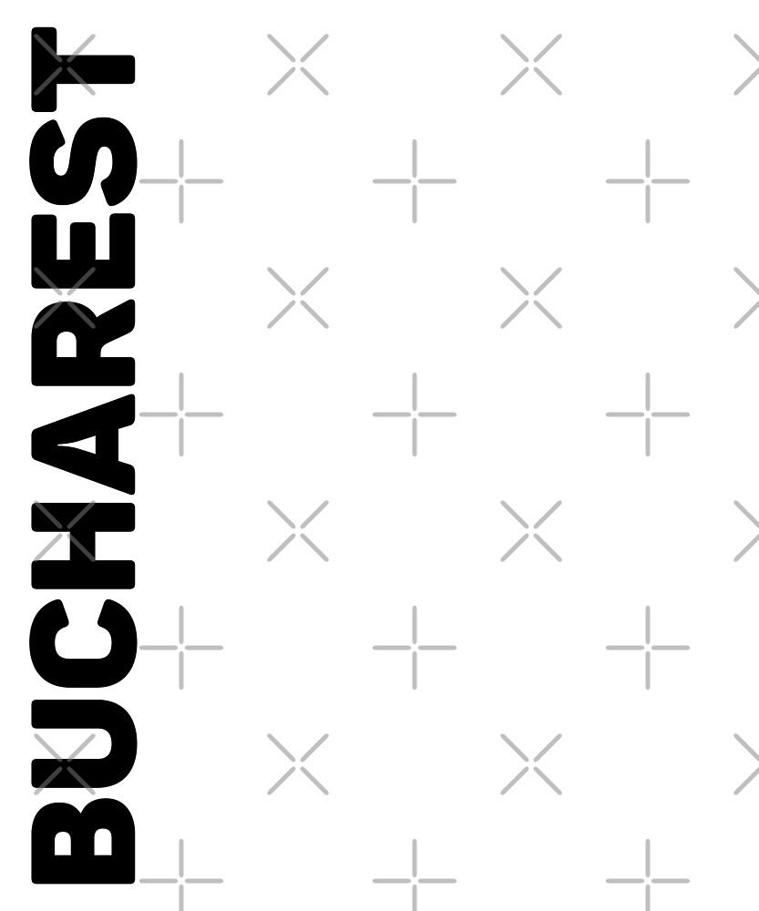 Bucharest T-Shirt by designkitsch