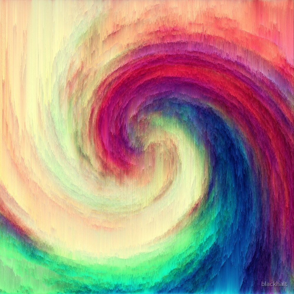 Abstract wave | The power of thoughts and words by blackhalt