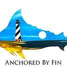 Anchored By Fin Blue Marlin  by barryknauff