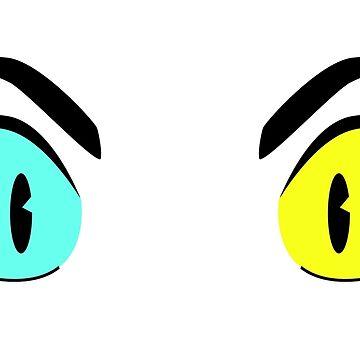freyja's eyes by TalenLee