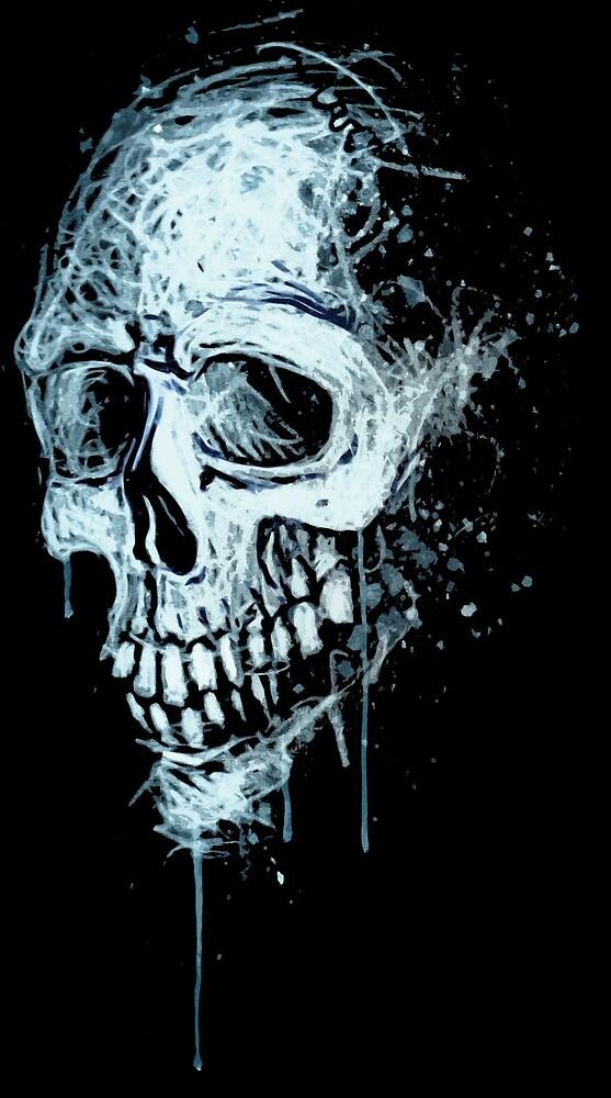 Skull I by saintdevil