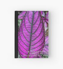 He is their help and their shield..... Hardcover Journal
