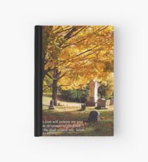 for He shall receive me... Hardcover Journal