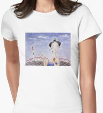 Ice cream Womens Fitted T-Shirt