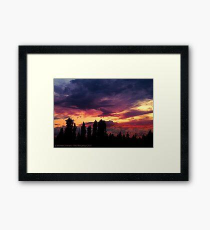 Cloudy Skies Framed Print