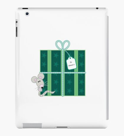 Little Mouse - Christmas Present iPad Case/Skin