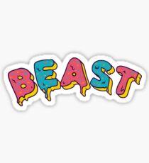 Matt Beast Mr. Beast Design Sticker
