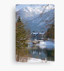Lake Bohinj, Slovenia Canvas Print