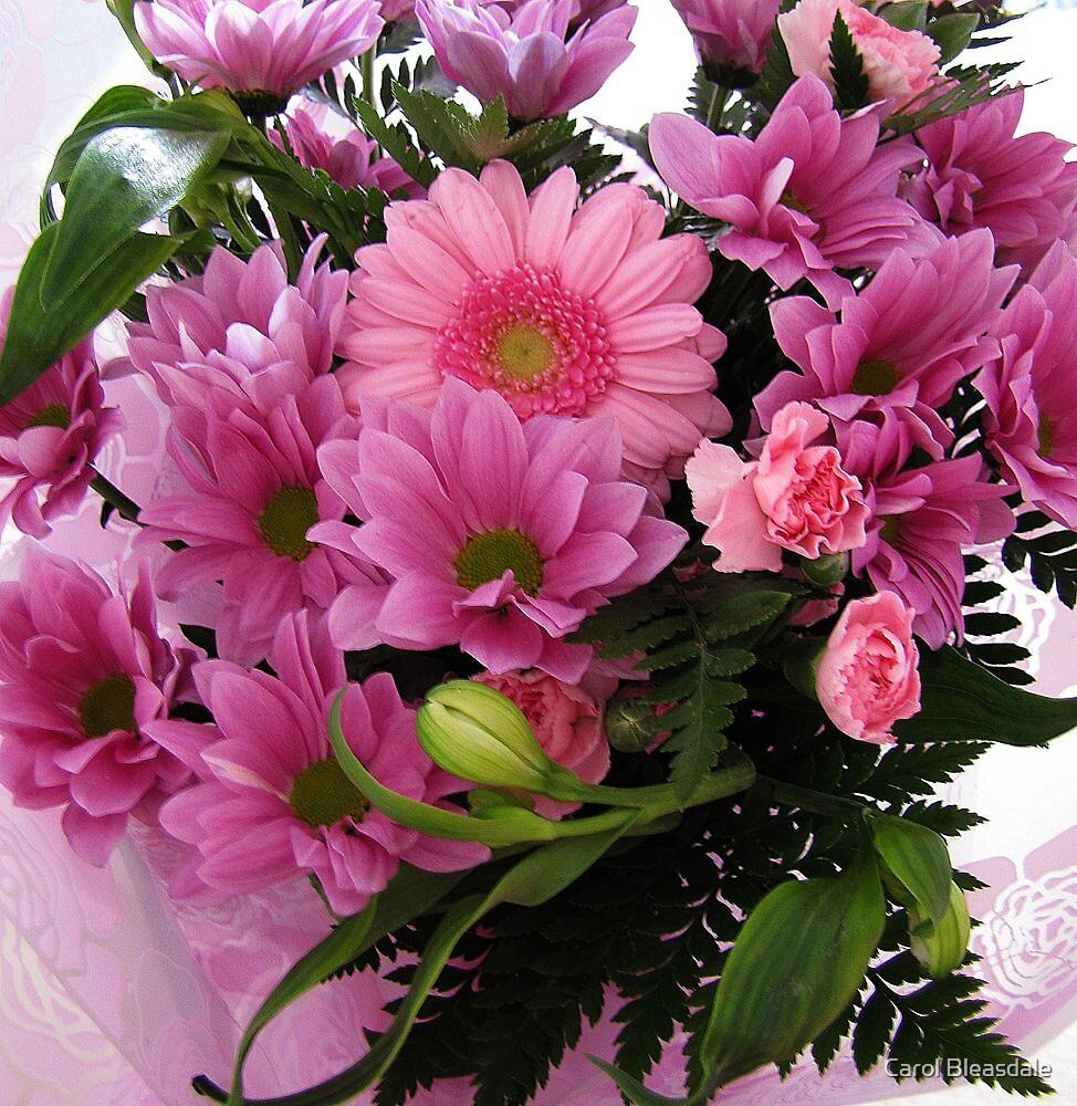 Pink Bouquet by Carol Bleasdale