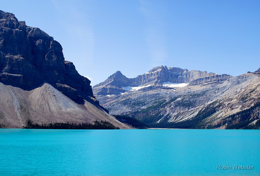 Water Mountain Sky by Robin Webster