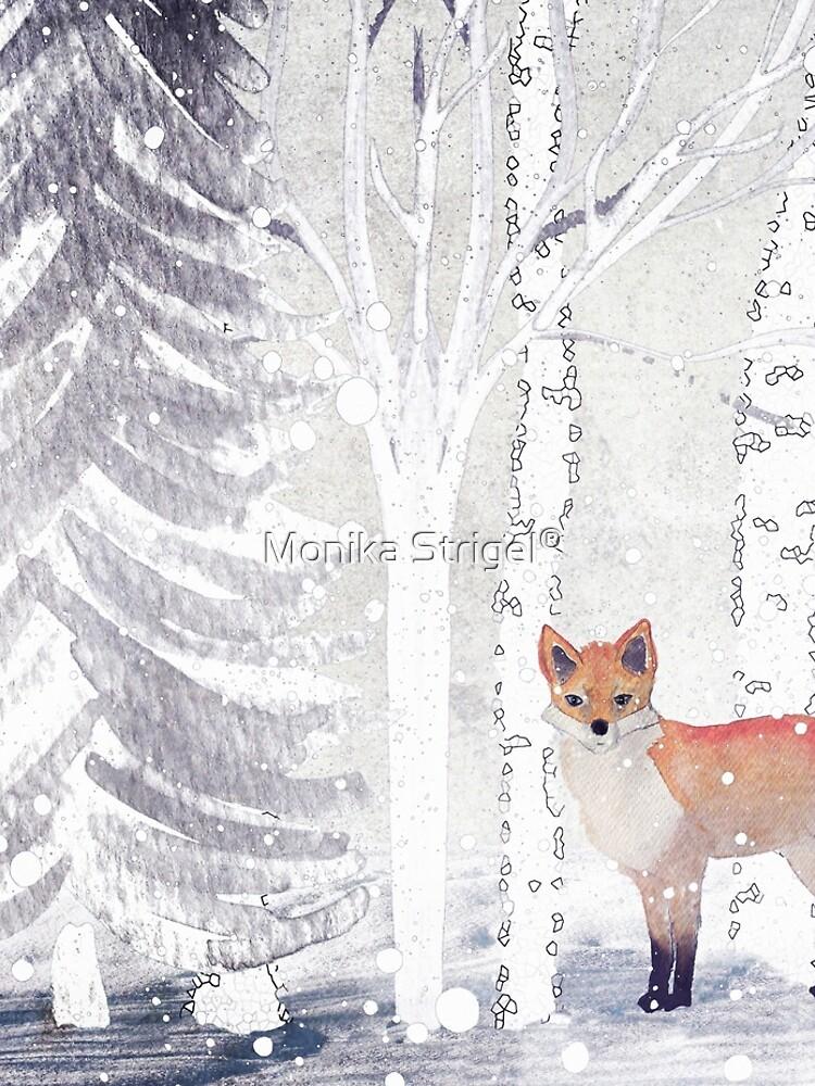 WINTER FOX by Monika Strigel von SunlightStudios