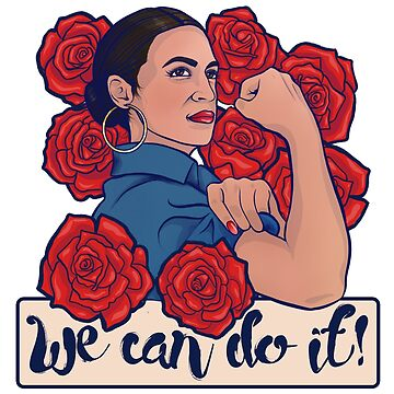 We can do it AOC green new deal art by Boogiemonst