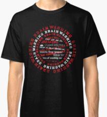 Brainwashing Creative Typographic Style  Classic T-Shirt