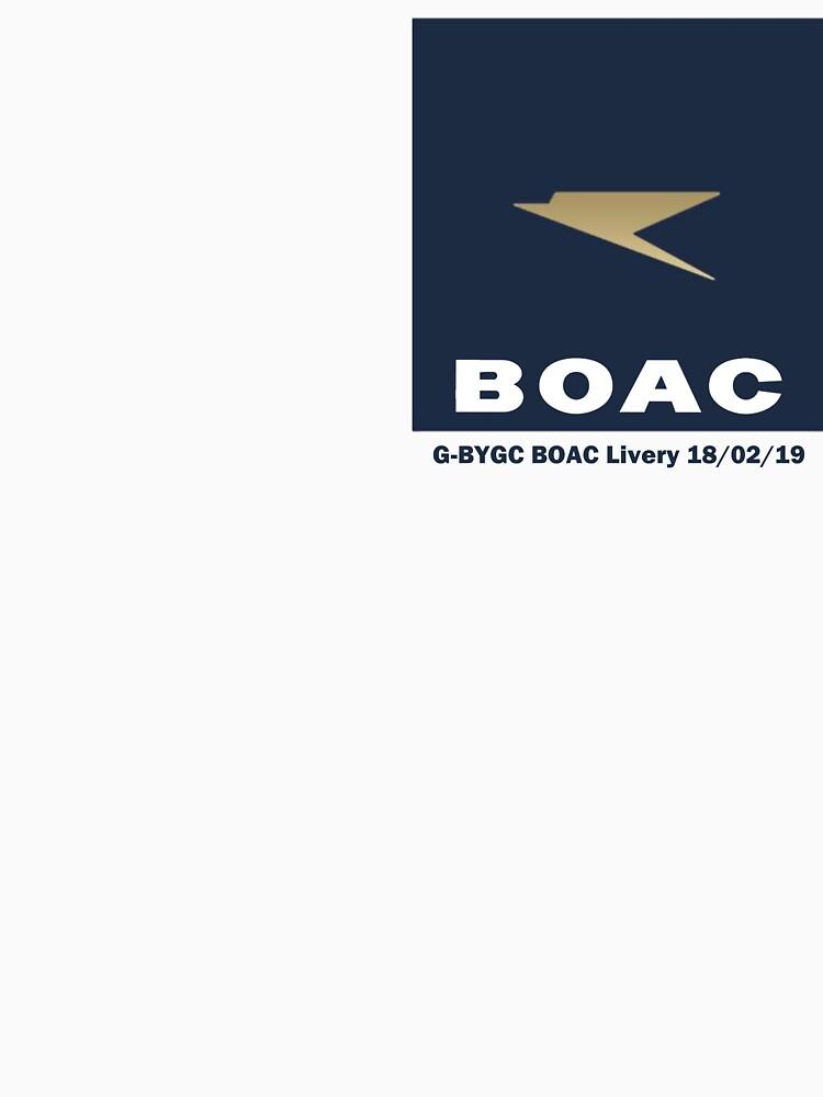 G-BYGC BOAC Livery by Auchmithie49
