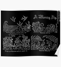 New Sample Book of Our Artistic Perforated Parchment Stamping Patterns Kate Greenaway, John Frederick Ingalls 1886 0099 Inverted Poster