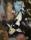 Utsuri Koi Reflections by Michael Creese