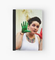 Colouful Opiet  Hardcover Journal