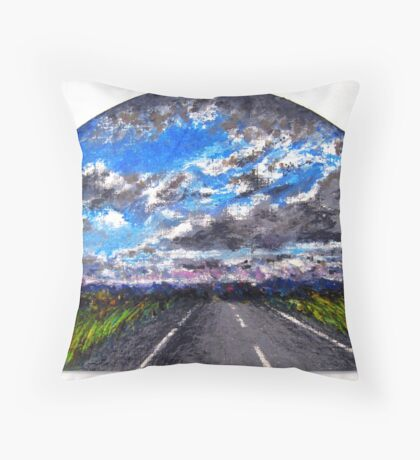 The Distance Between You and I... (panel #3) Throw Pillow
