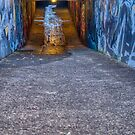 Into The Subway Tunnel by Michael McGimpsey