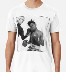 Jean Michel Basquiat and Andy Warhol Boxing Tee Men's Premium T-Shirt