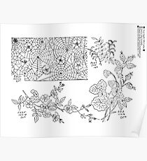 New Sample Book of Our Artistic Perforated Parchment Stamping Patterns Kate Greenaway, John Frederick Ingalls 1886 0210 Poster