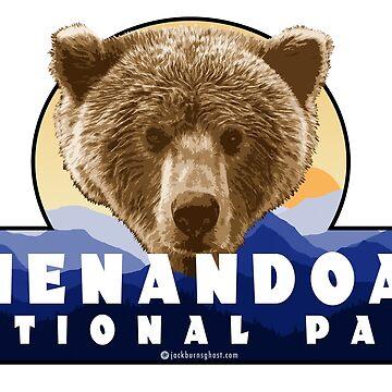 Shenandoah National Park Bär von jackburnsghost
