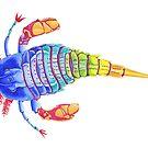 Eurypterid (Sea scorpion) by itsallmalarkey
