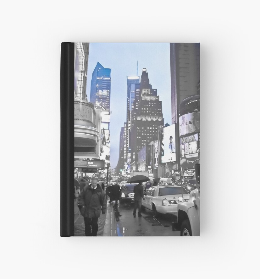 New York in Blue by ksmdigiphoto