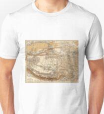Vintage Karte von Tibet (1906) Slim Fit T-Shirt