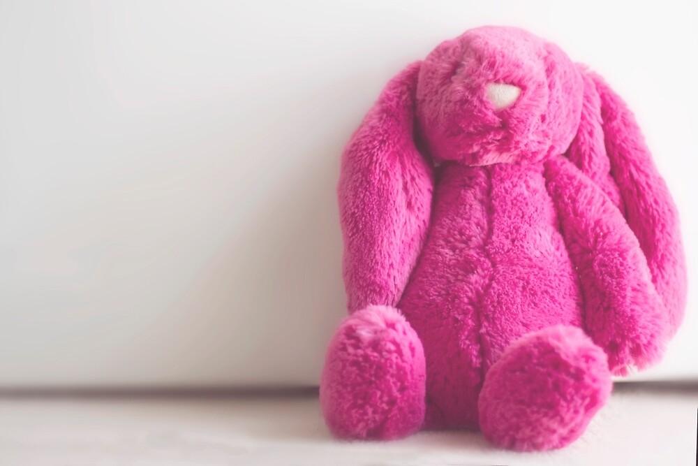 Pink Bunny by CloudRoadStudio