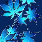 Dark Blue Leaves by zhirobas