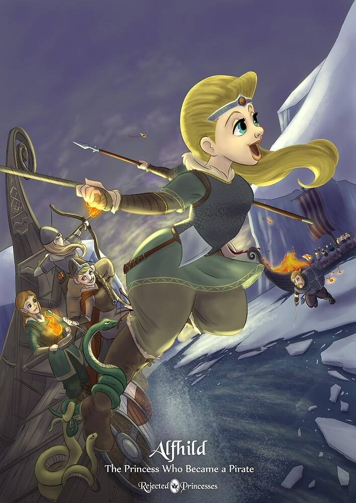 Alfhild - Rejected Princesses by jasonporath