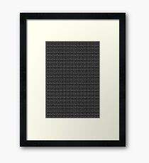 Chainmail Framed Print