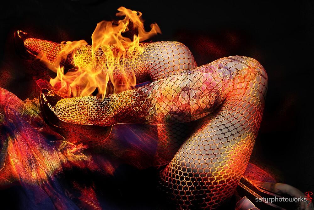 Fire Legs by satyrphotoworks
