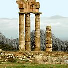 RUINS, RHODES, GREECE by Edward J. Laquale