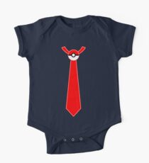 Pokeball Tie Tee One Piece - Short Sleeve