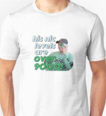 Noel Miller - ÜBER 9000 Slim Fit T-Shirt